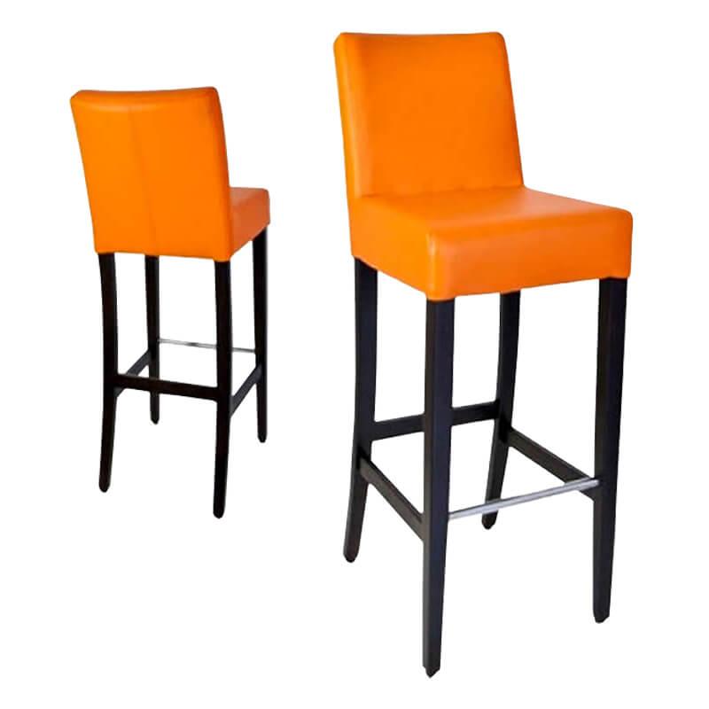 Horeca-Barstoel-Jarno-Oranje