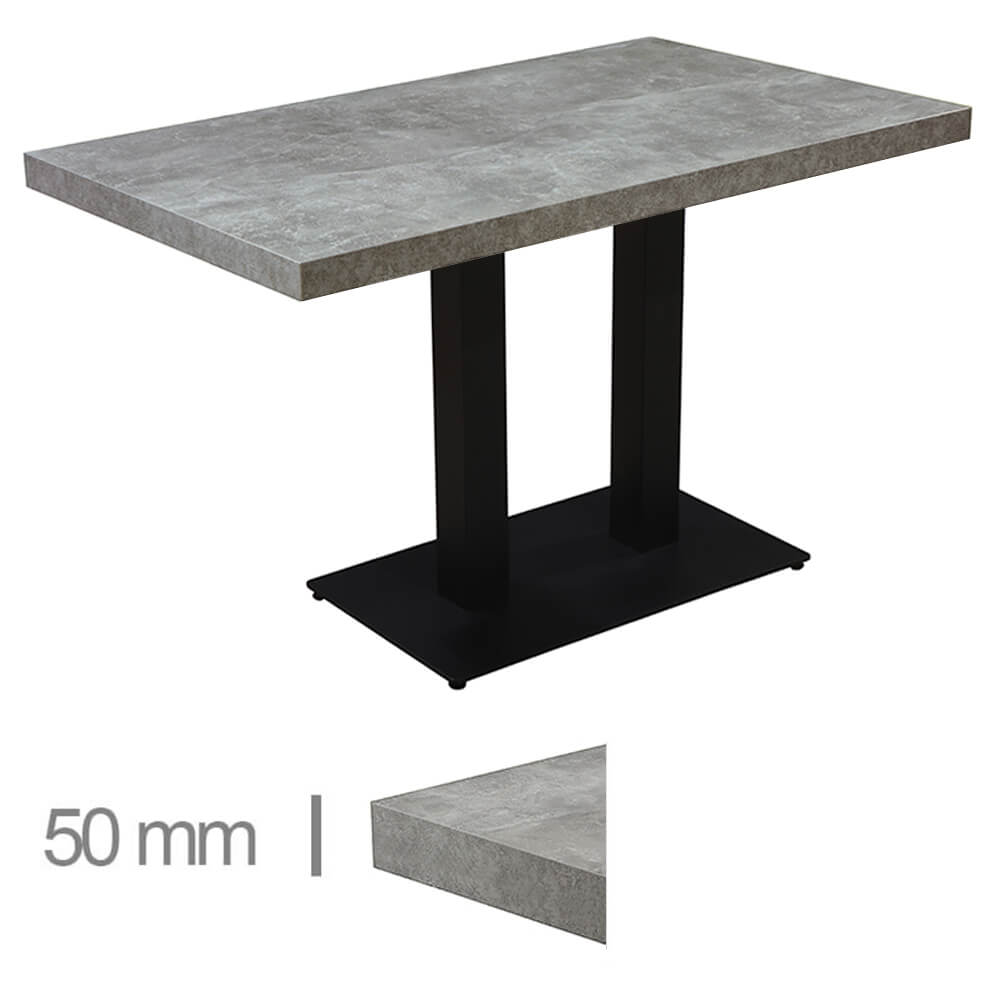 Horeca-Tafel-Dublin-Beton-70x120-Cm-Met-Onderstel-50mm