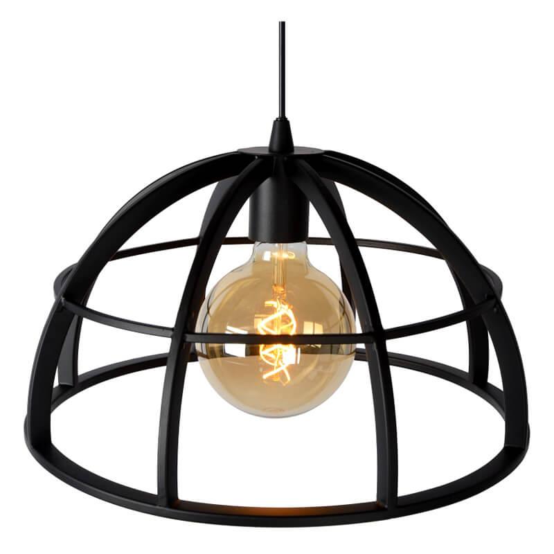 Dikra Hanglamp Ø 40 Cm Zwart - 4
