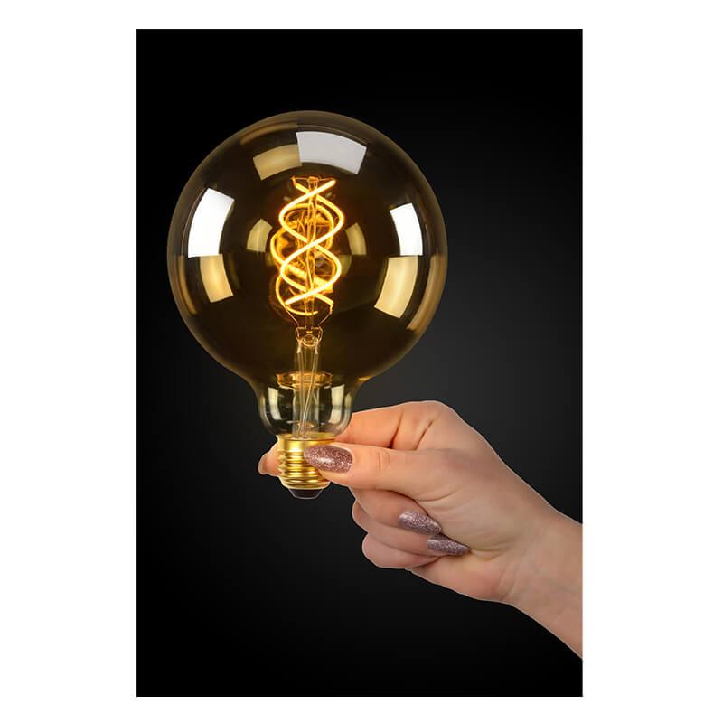 Led Bulb - Filament Lamp - Ø 12,5 Cm - 3