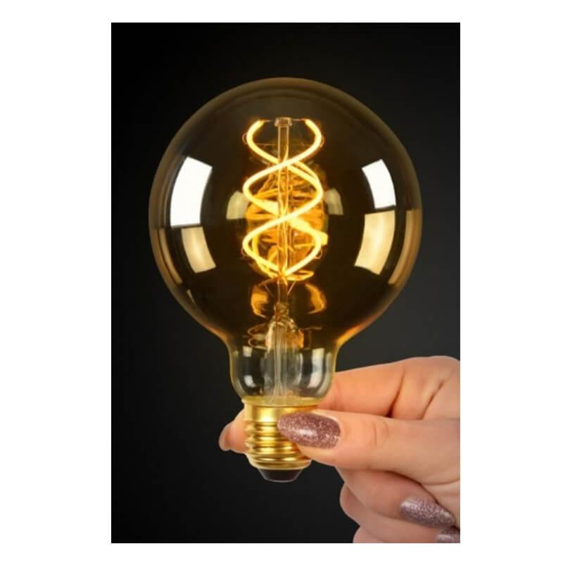 Led Bulb - Filament Lamp - Ø 9,5 Cm - 3